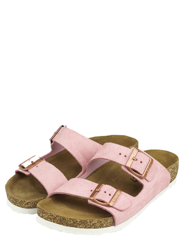 4010    Женские тапочки-сабо (розовый)