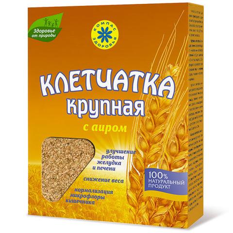 Клетчатка пшеничная, Компас Здоровья, крупная, с аиром, 150 г