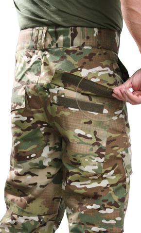 Брюки камуфляжные НАТО Рип-стоп Мультикам