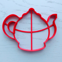 Чайник №2 форма для пряника