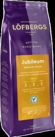 Кофе в зернах Lofbergs Jubileum 400 гр