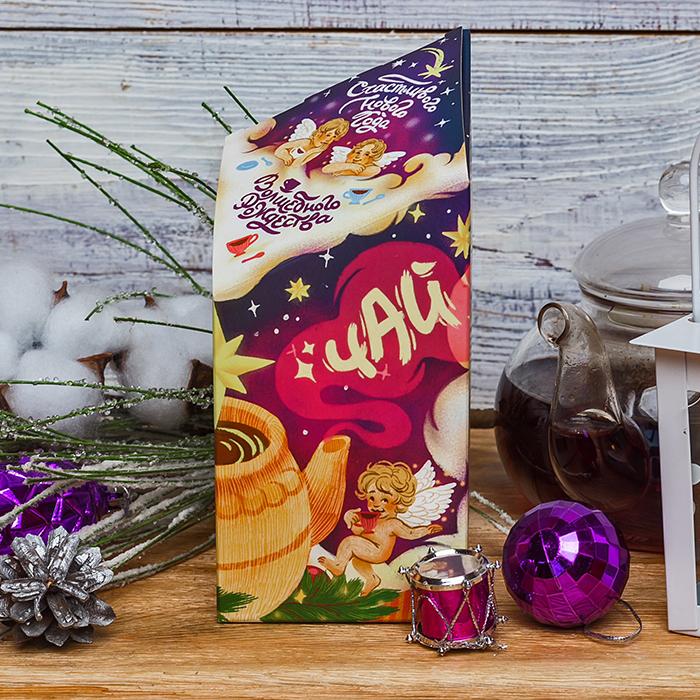 Купить зеленый чай в подарочной упаковке на Новый год и Рождество в Перми