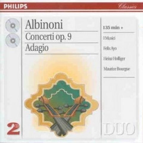 Albinoni: 12 Concertos, Op. 9, etc.