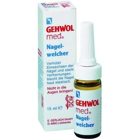 Смягчающая жидкость для ногтей GEHWOL Med Nail Softener 15 мл