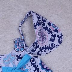 Летнее платье с трусиками Пироженко (михенди)