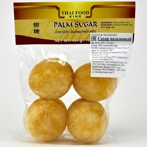Сахар пальмовый кусковой Thai Food King, 454г