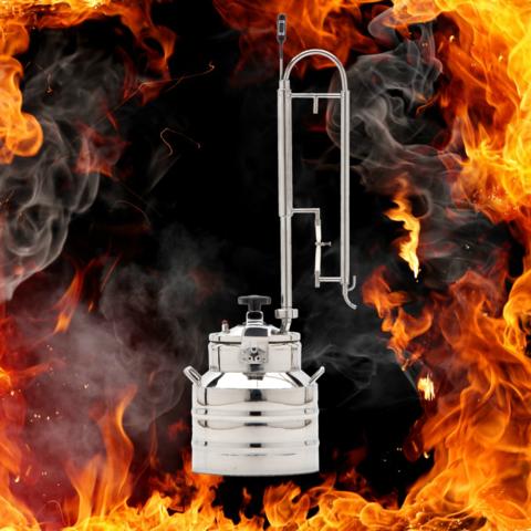 Дистиллятор с пленочной колонной - Скороварка 15 л