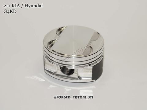 Поршни СТИ KIA, Hyundai 2,0 G4KD под кольца 1,2/1,2/2,0