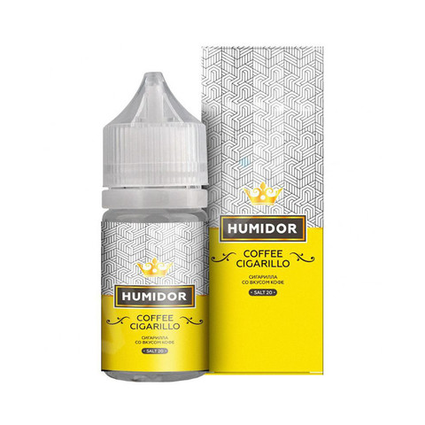 Жидкость Humidor Salt 30 мл Coffee Cigarillo