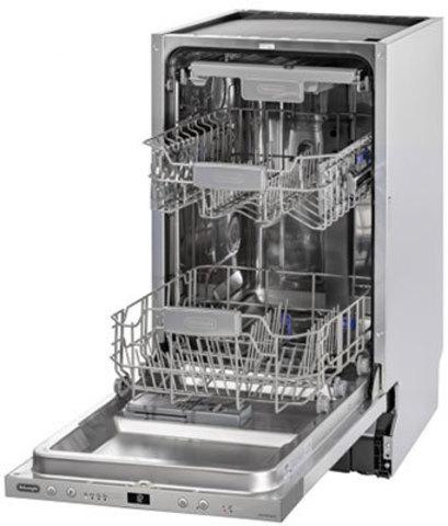 Посудомоечная машина шириной 45 см DeLonghi DDW06S Granate platinum