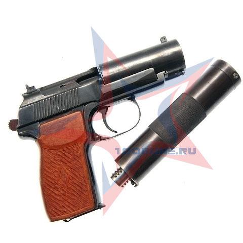 Охолощенный Пистолет бесшумный  6П9 (Р-413)