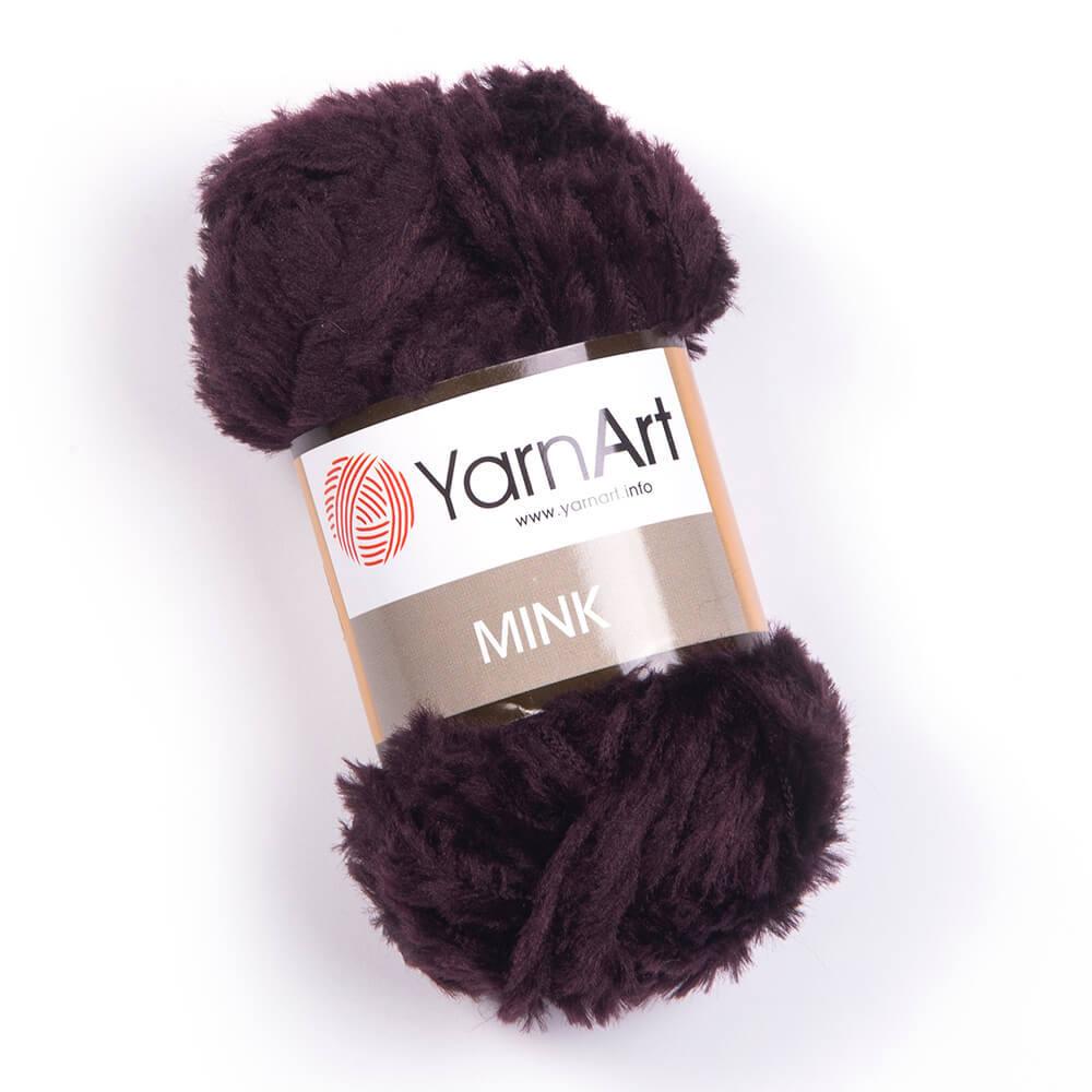 Пряжа YarnArt Mink 342 шоколад