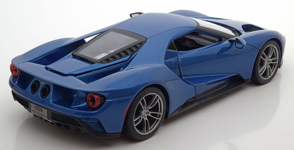 Коллекционная модель Ford GT 2017 Blue Metallic