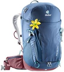 Рюкзак женский Deuter Trail Pro 30 SL midnight-maron