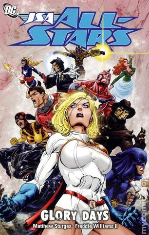 JSA All-Stars: Glory Days TPB