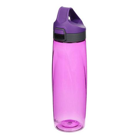 Бутылка для воды из тритана с кнопкой, 900 мл, артикул 680_Мульти, производитель - Sistema