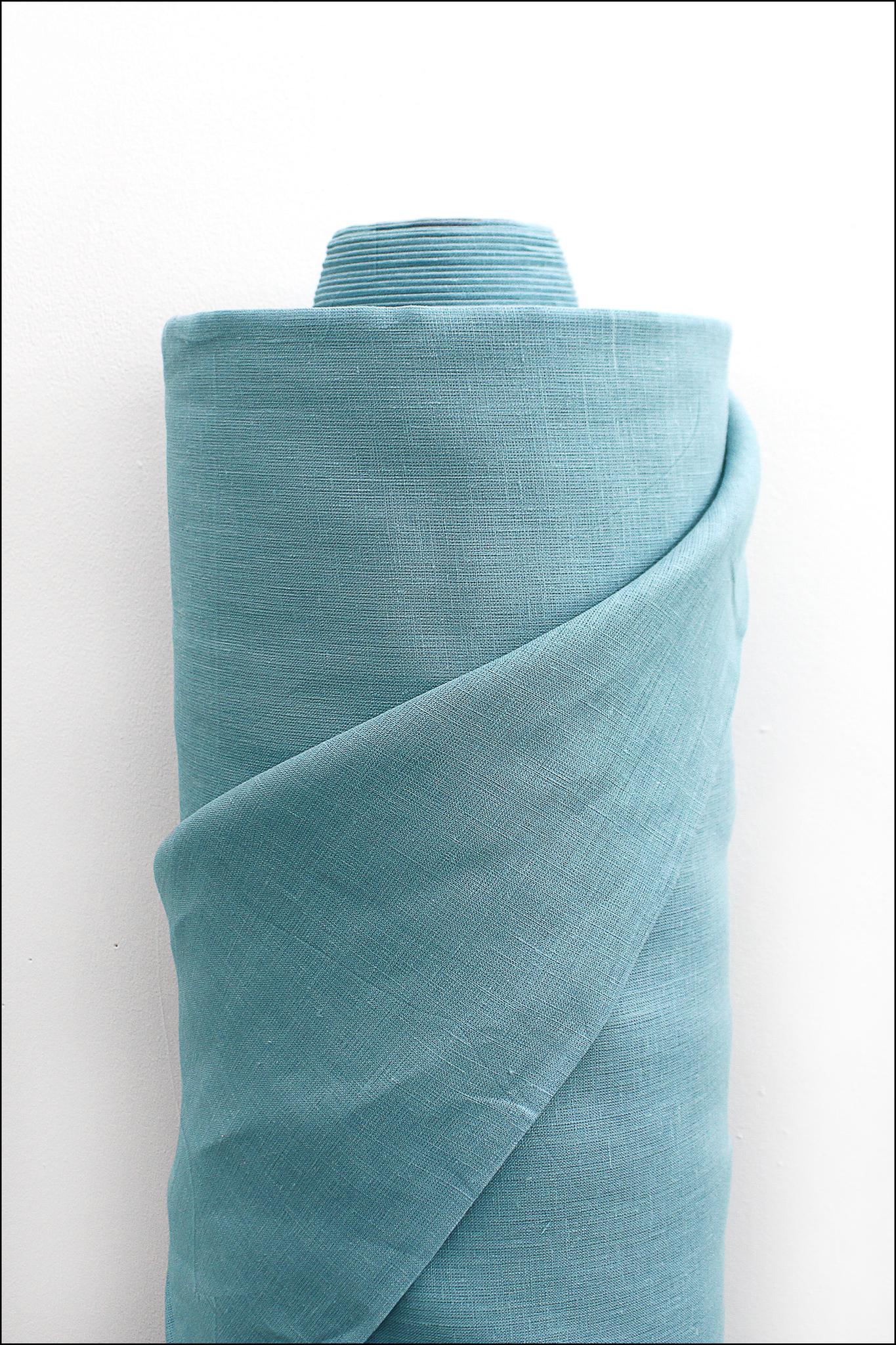 Голубой камень, лен постельный, 260