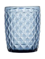 Water Glass Diamond Blue, 6 Pc