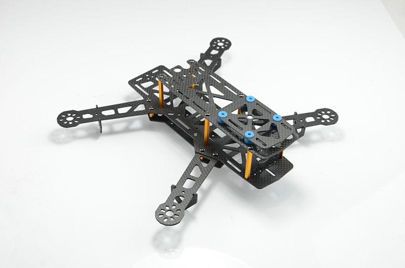 Рама гоночного квадрокоптера QAV280 v2