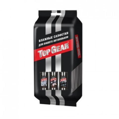 Набор влажных салфеток для автомобиля Top Gear 90 штук