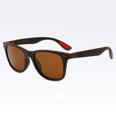Солнцезащитные очки поляризационные 4195003p Коричневый - фото
