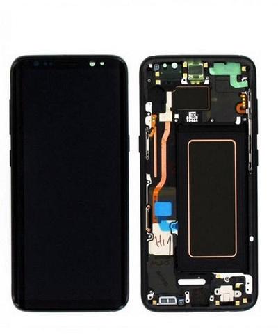 LCD SAMSUNG Galaxy S8 G950F + Touch + Frame Black Orig