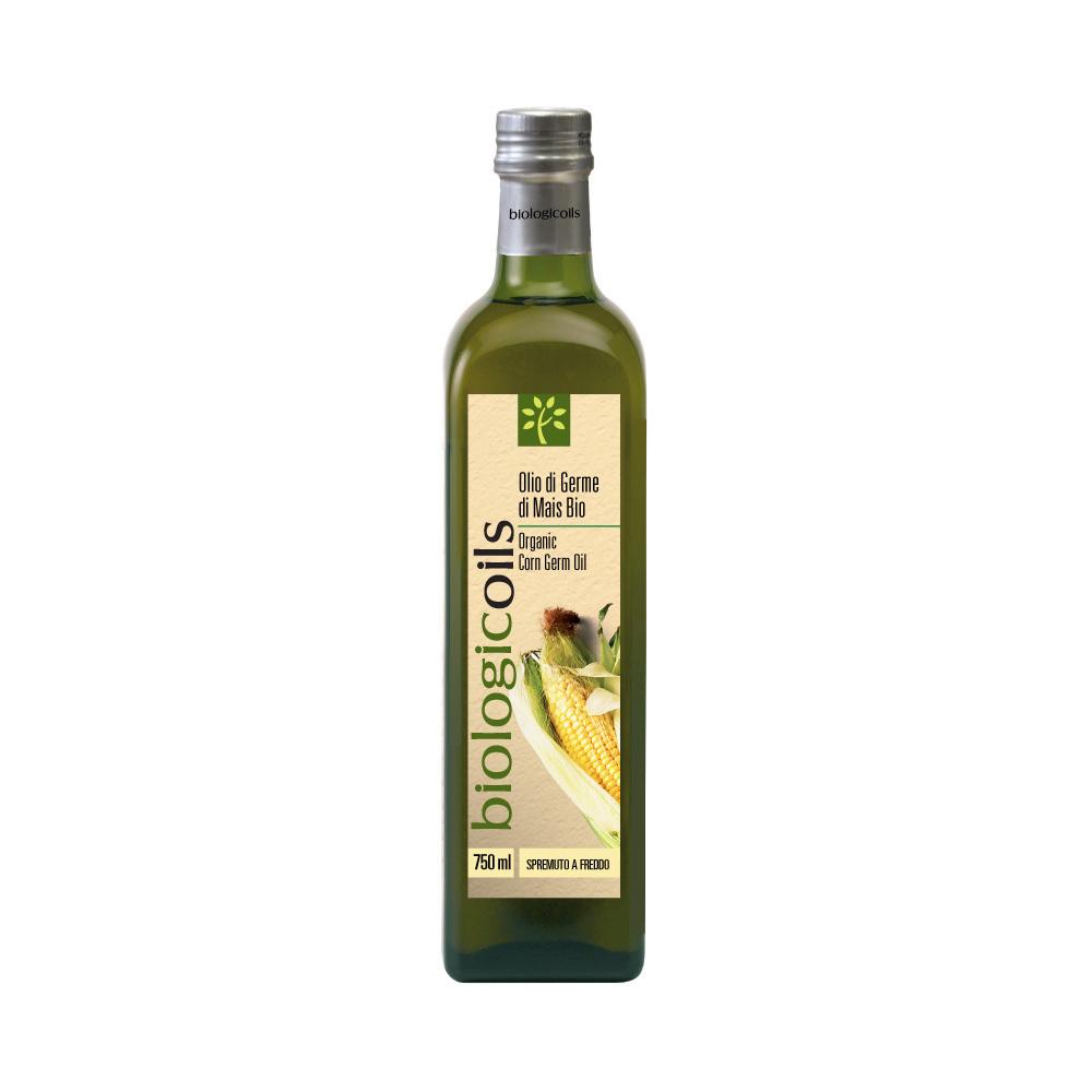 Масло BiologicOils из пророщенных зёрен кукурузы Bio Extra Vergine 750мл купить