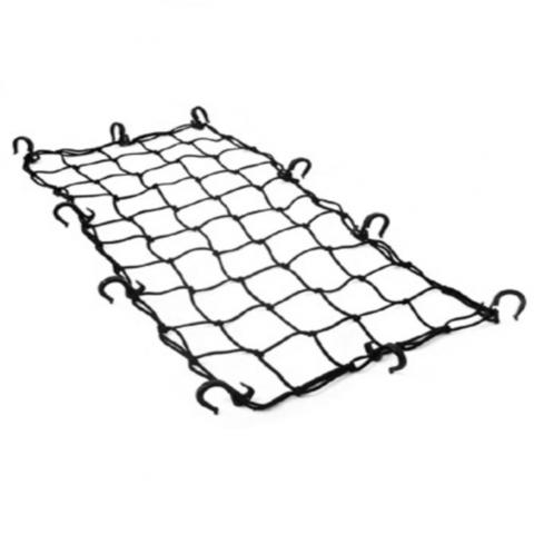 Багажная сетка REXWEAR черн., пластик.крючки 40*70см