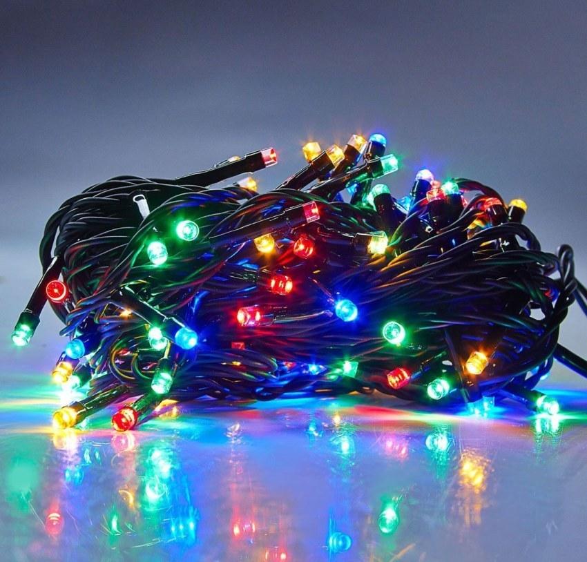 Товары для дома Новогодняя гирлянда 100 Led светодиодная (5 метров) girlyanda-100-led.jpg