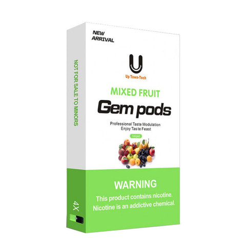 Gem Pods 4 картриджа Mixed Fruit - Фруктовый Микс