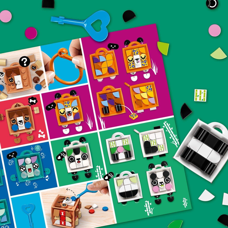 LEGO DOTs 41930 ЛЕГО Дотс Брелок «Панда»
