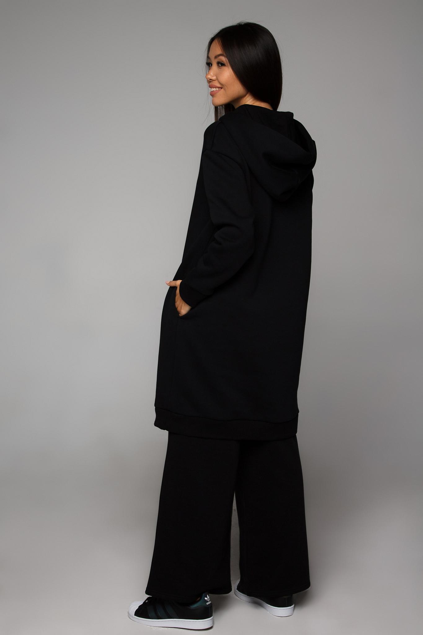 Костюм утепленный черный YOS от украинского бренда Your Own Style