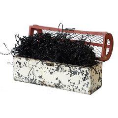Наполнитель для коробок Бумажный Чёрный, 100 г, 2 мм.