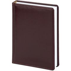 Ежедневник недатированный Attache Каньон искусственная кожа А5 176 листов бордовый (143x210 мм)