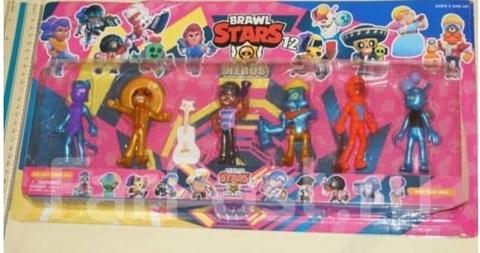 Набор 7 игрушек Brawl Stars 8 см