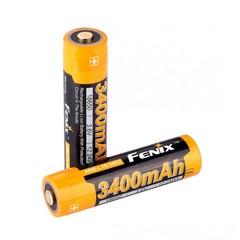 Аккумулятор 18650 LI-ION Fenix 3.6V, 3400mAh