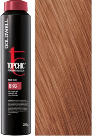 Goldwell Topchic 8KG медно-золотистый блондин TC 250ml