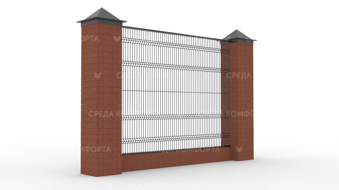 Забор 3Д ZBR0067