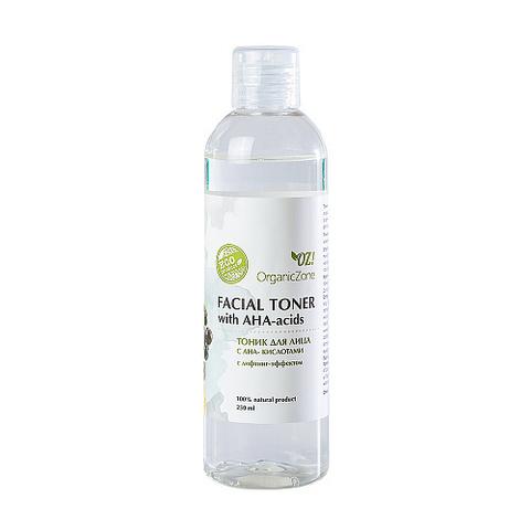 Тоник с лифтинг эффектом с AHA-кислотами | 250 мл | Organic Zone