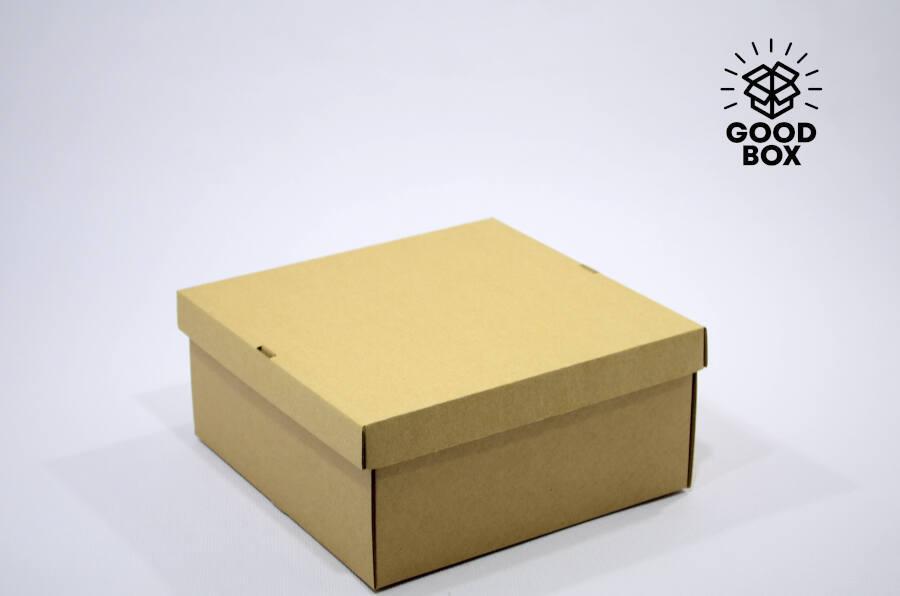Крафт коробка бурая купить в Алматы