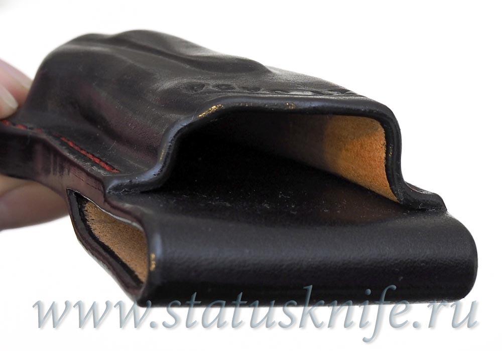 Чехол кожаный черный ZT 0454 - фотография