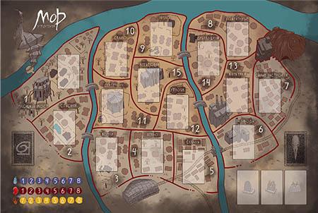 Настольная игра Мор (Утопия) 2-ое издание