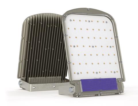 Мощный светодиодный прожектор для промышленного освещения Svetilium Skat