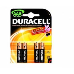 Батарейки Duracell LRO3/MN2400- AAA(4шт.)