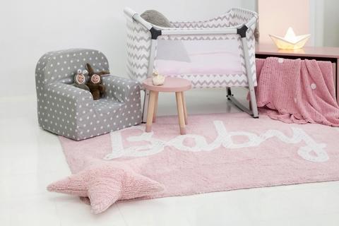 Ковер Lorena Canals Baby Petit Point Pink (120 x 160)