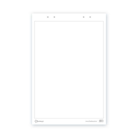 Бумага для флипчартов 2х3 60х90 см белая 30 листов