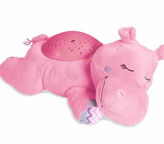 Проектор звездного неба Hippo розовый
