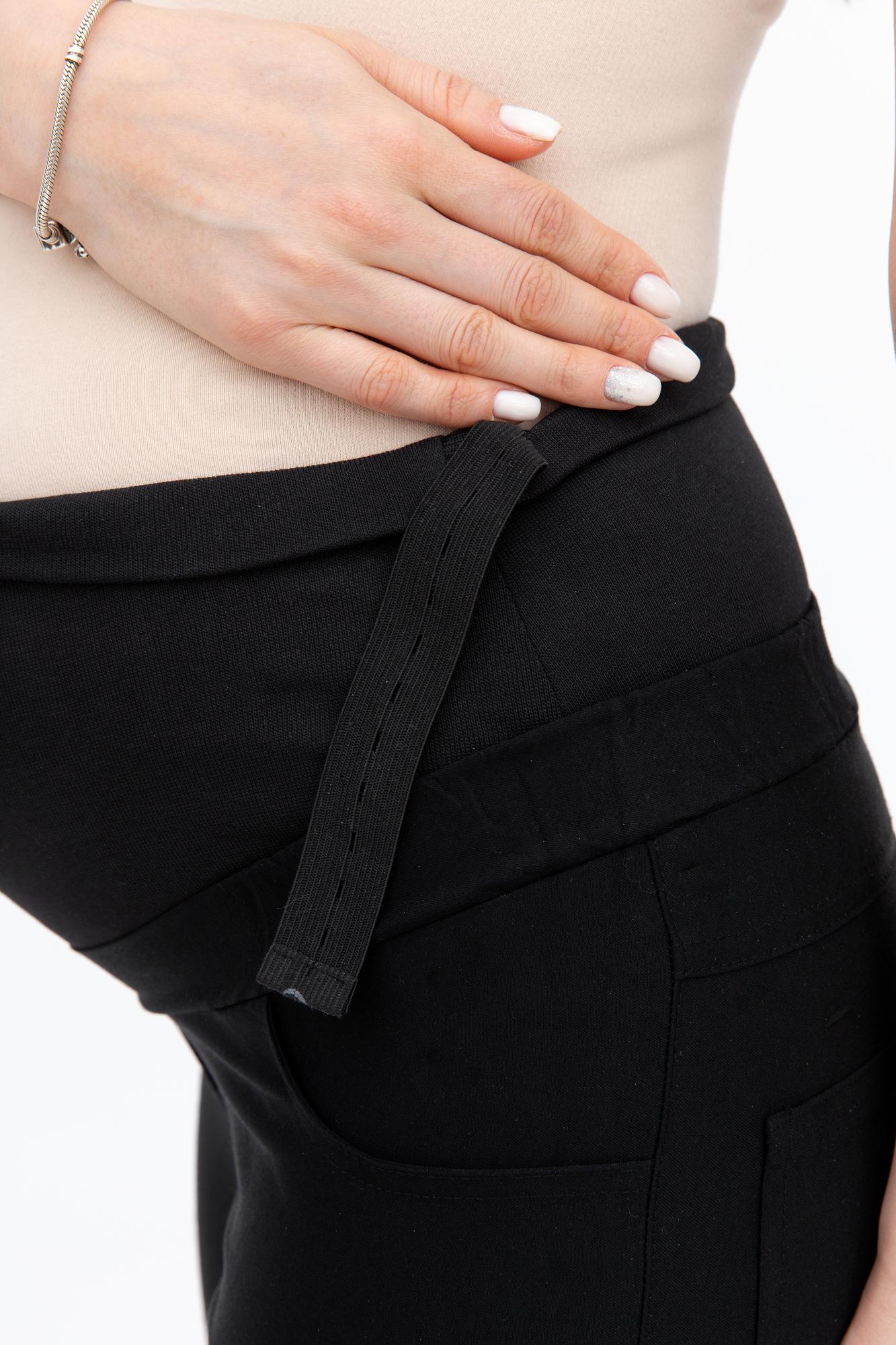 Брюки для беременных 08918 черный