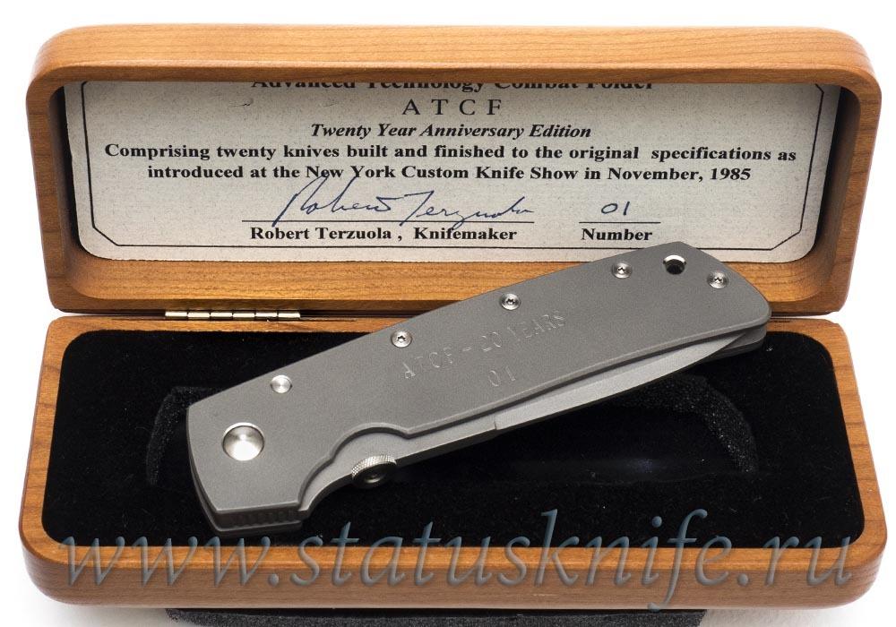 Нож Bob Terzuola ATCF anniversary 1 of 20 - фотография