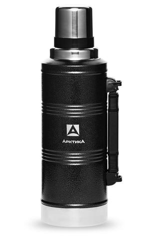 Термос Арктика (2,2 литра) с узким горлом американский дизайн, черный